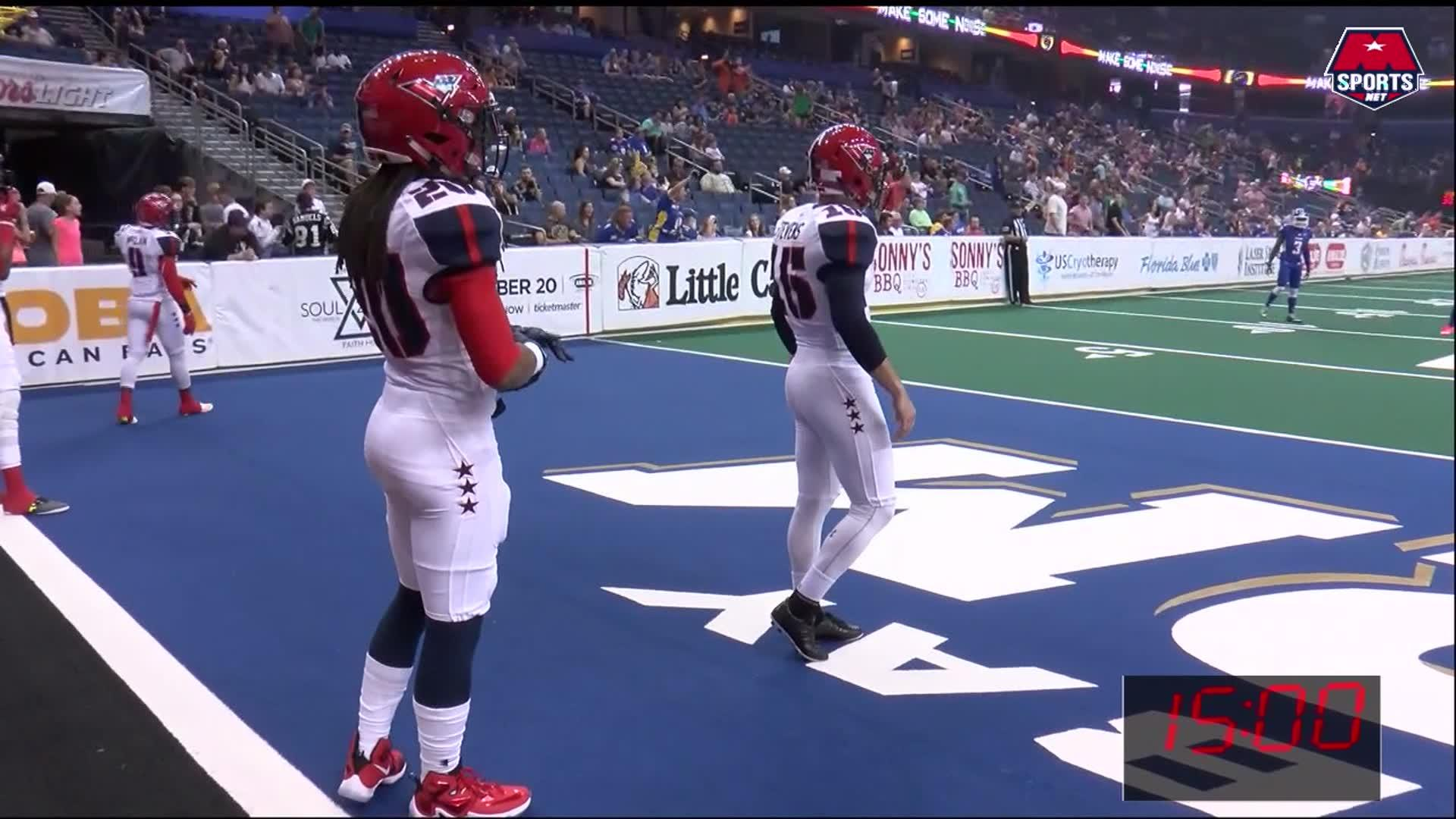 AFL Week 7 Full Game: Valor @ Storm