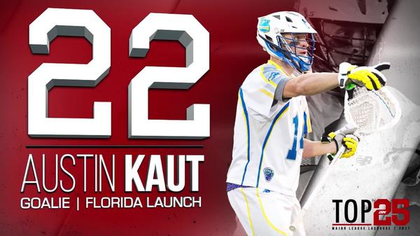 2017 #MLLTOP25 Number 22 Austin Kaut