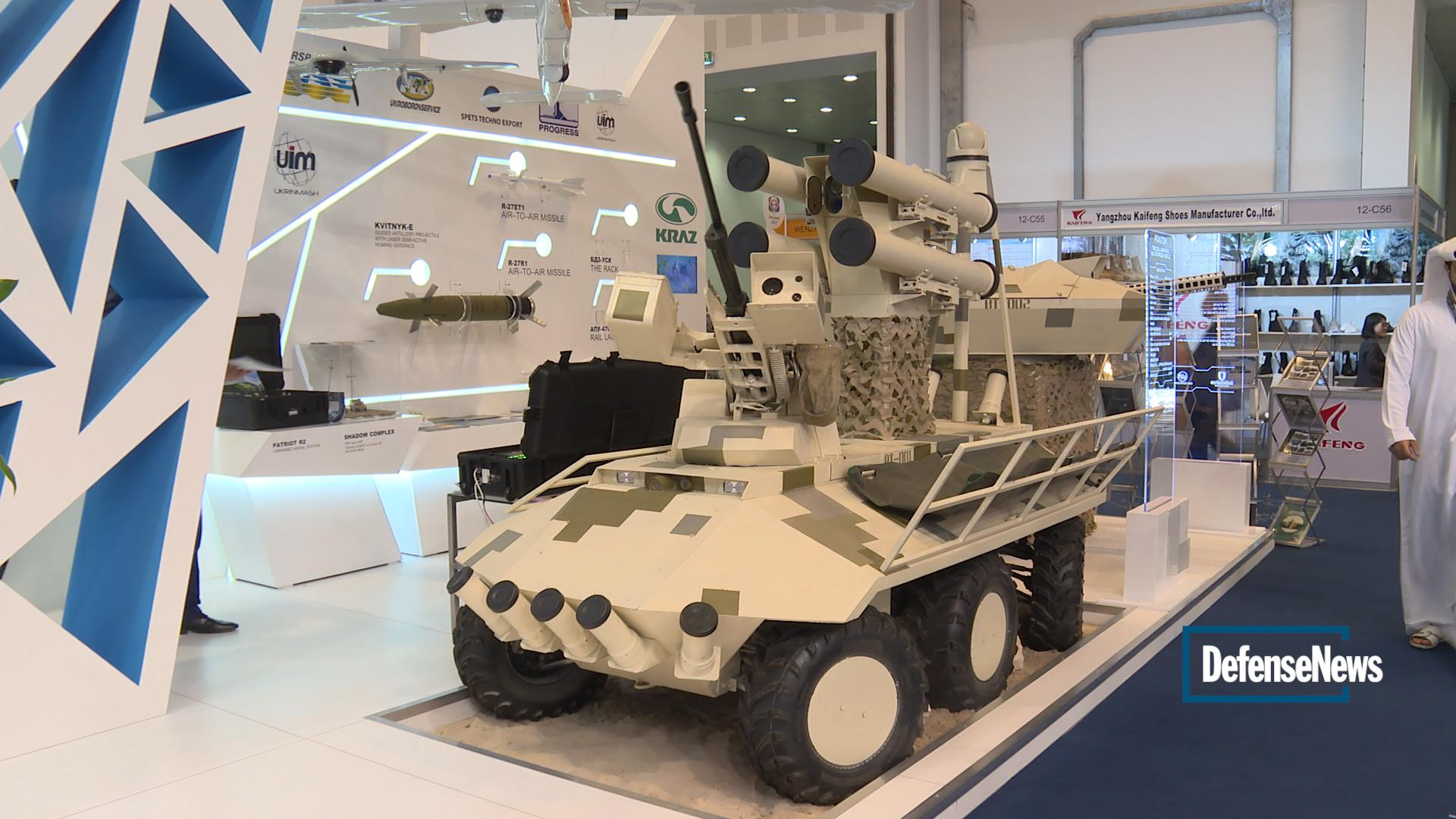 Image of Tank drones? Ukraine showcases their potential