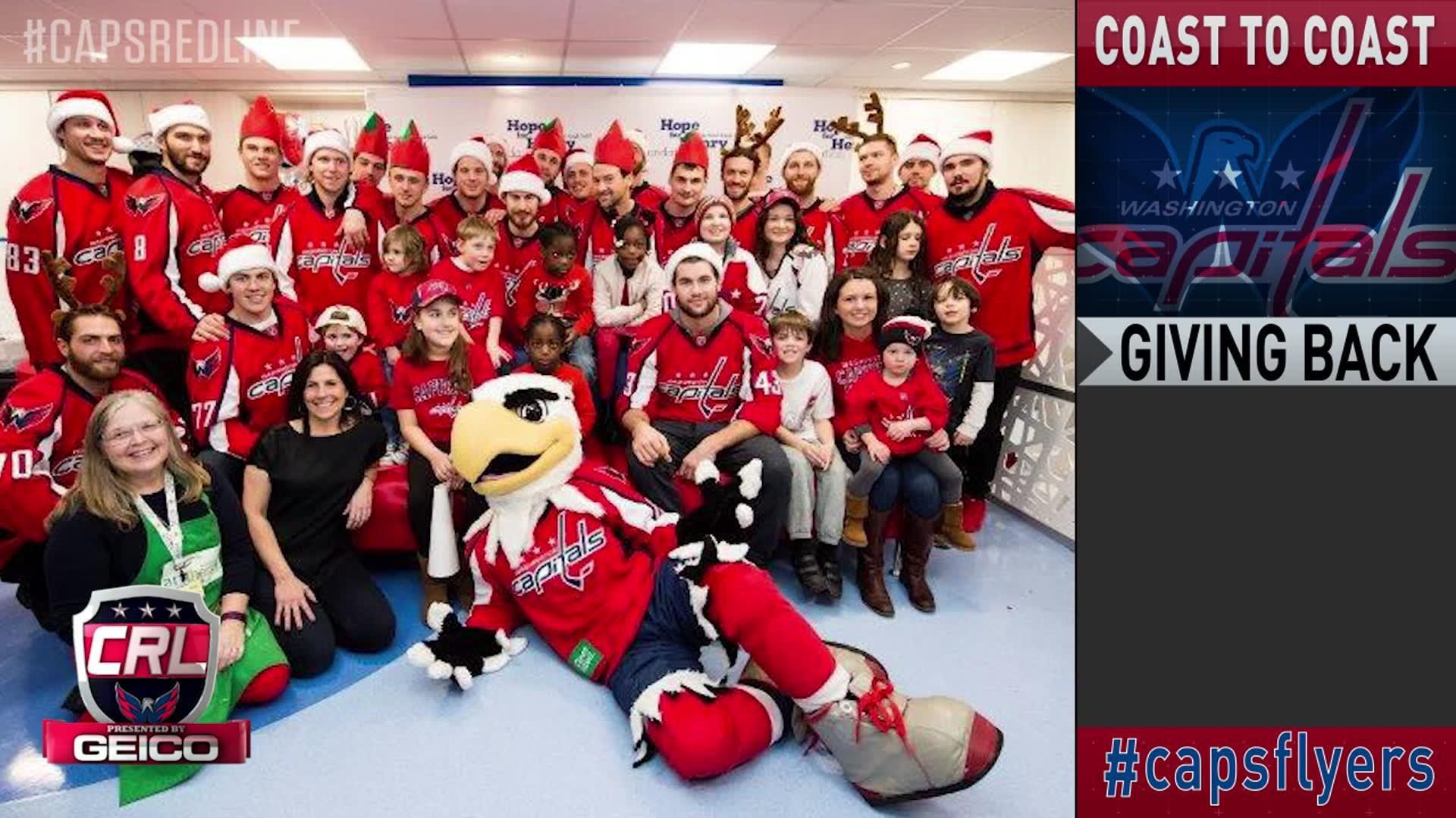 Caps Red Line: Caps @ Flyers Pt 3 12-21-16