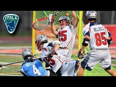 Image of 2015 MLL Week 15 Highlights: Boston Cannons at Ohio Machine