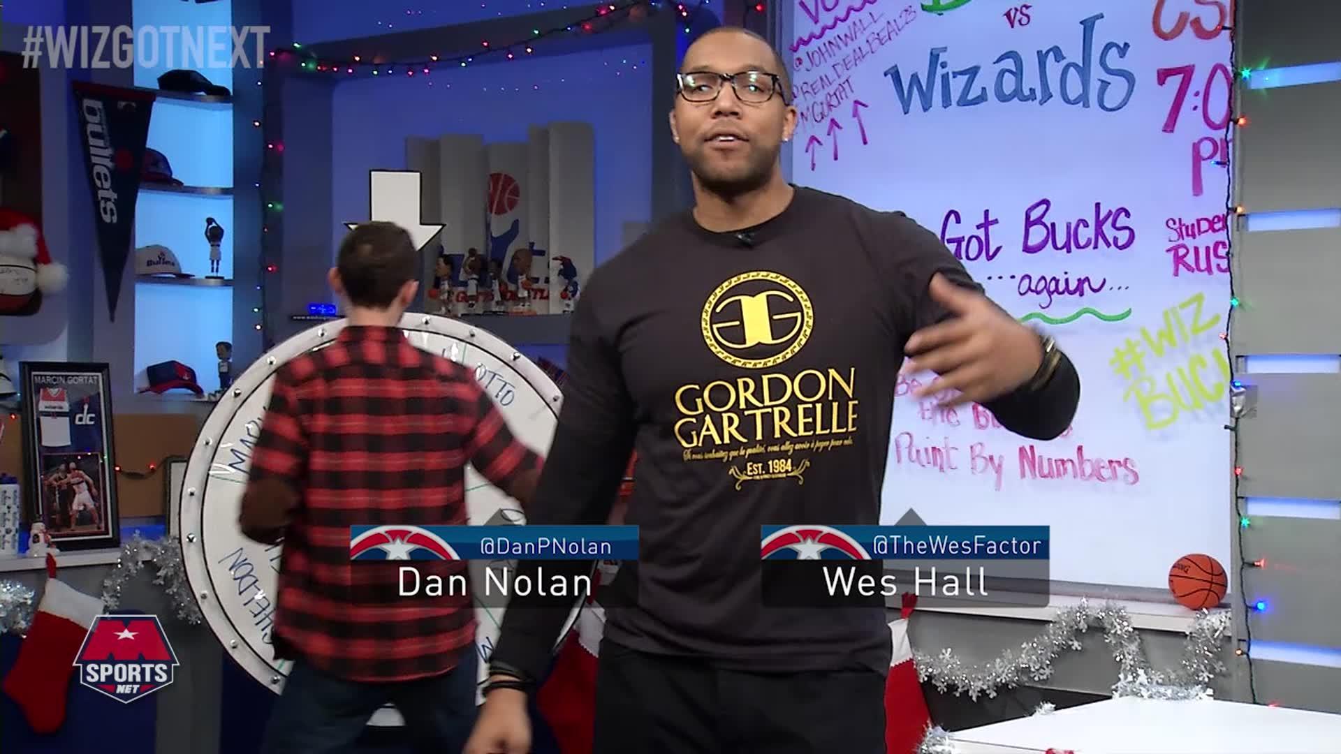 Wiz Got Next: Wizards vs Bucks Pt 1 - 12-26-16