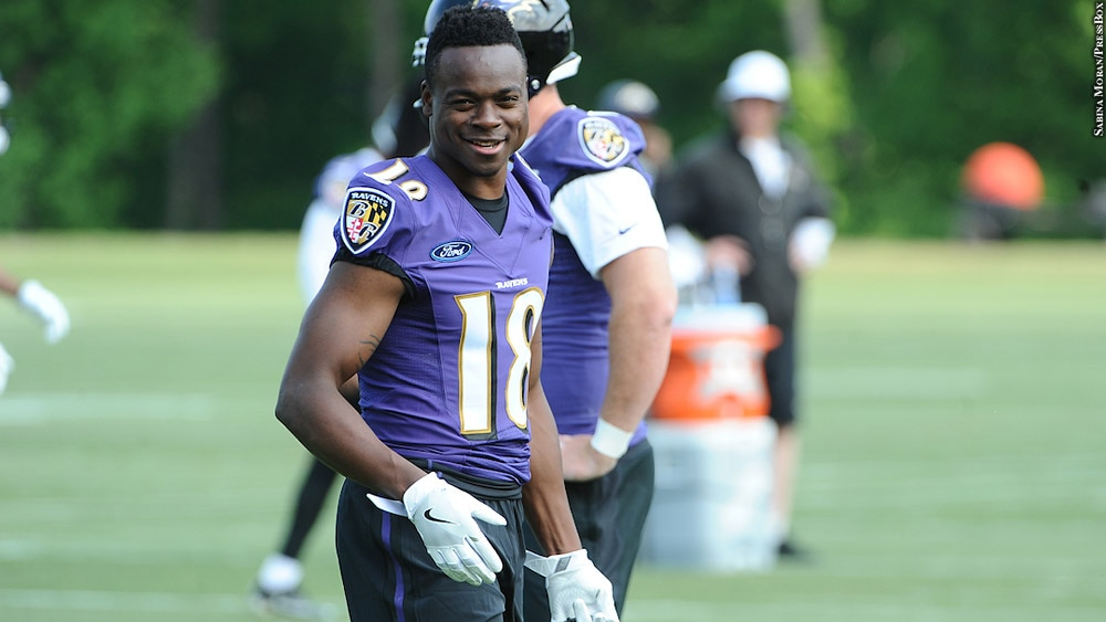 new style f55bc ce06b Jeremy Maclin: There Was Something About Baltimore From The ...
