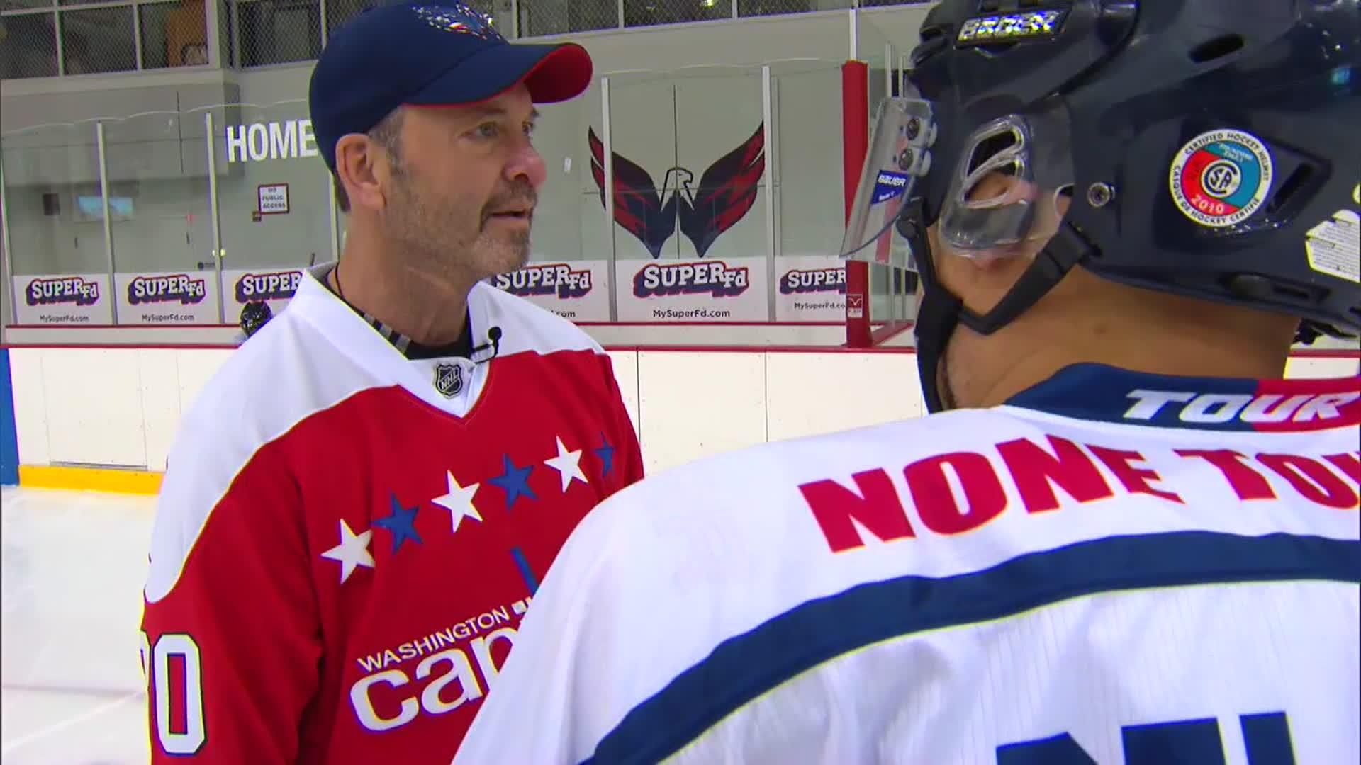 Clint Malarchuk Hits Ice With Usa Warriors 2 10 17 Monumental