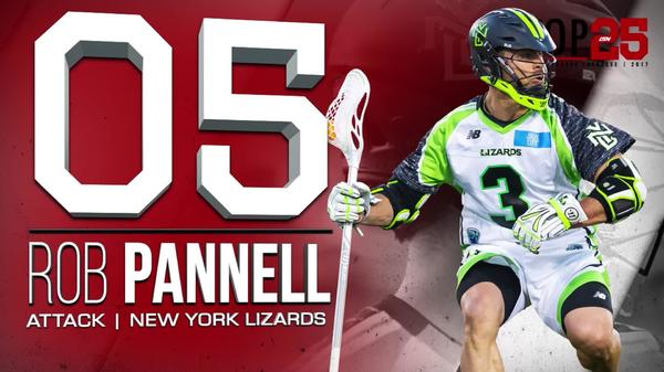2017 #MLLTop25 Number 5 Rob Pannell