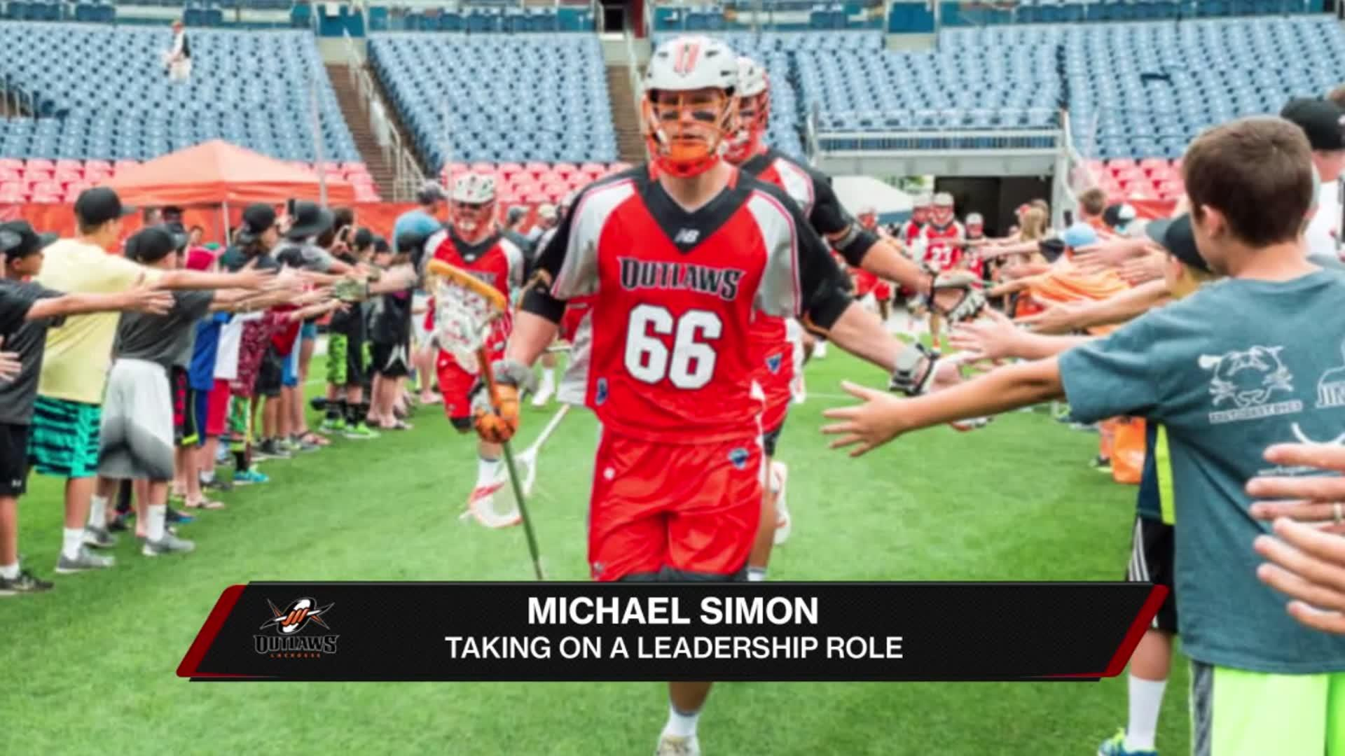 Outlaws' Michael Simon Shares on Off-Season