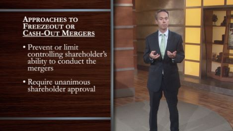 Corporate Law of Mergers and Acquisitions
