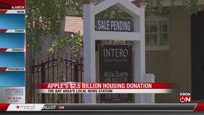 Apple's $2.5 billion housing donation