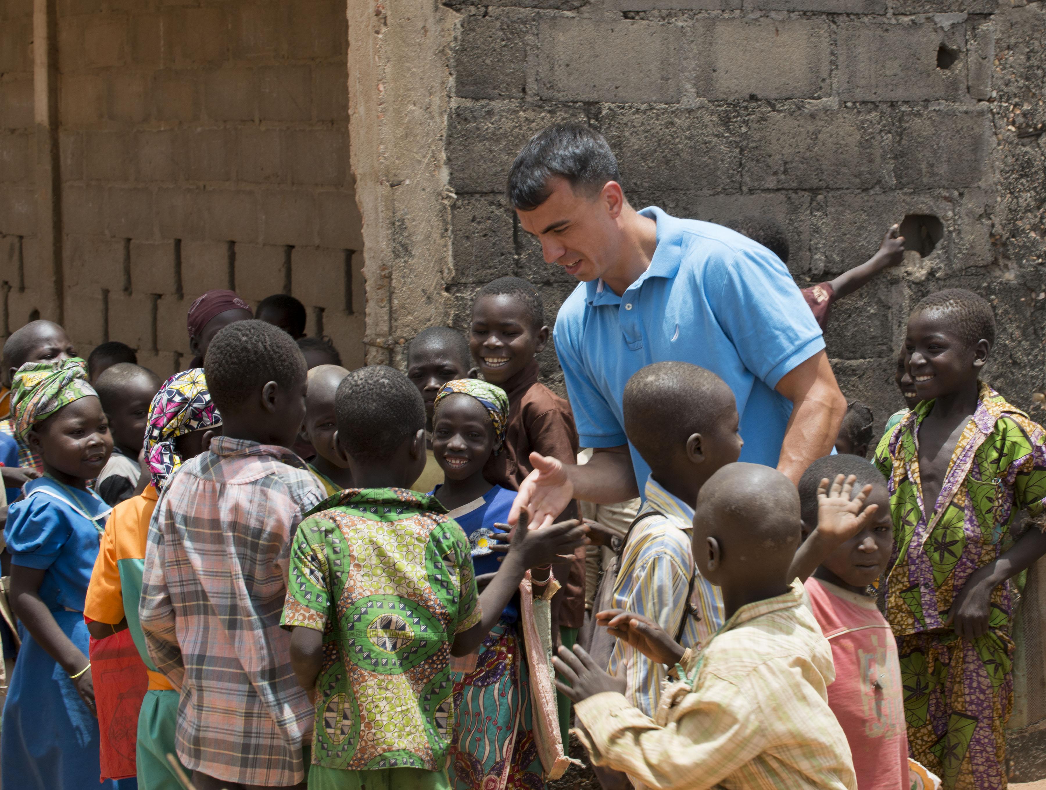 Civil Affairs Sgt. 1st Class Sean Acosta in Cameroon
