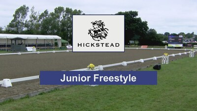 Dressage at Hickstead 2019 - CDIJ Junior Freestyle