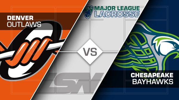 2017 Week 15 Denver Outlaws vs Chesapeake Bayhawks