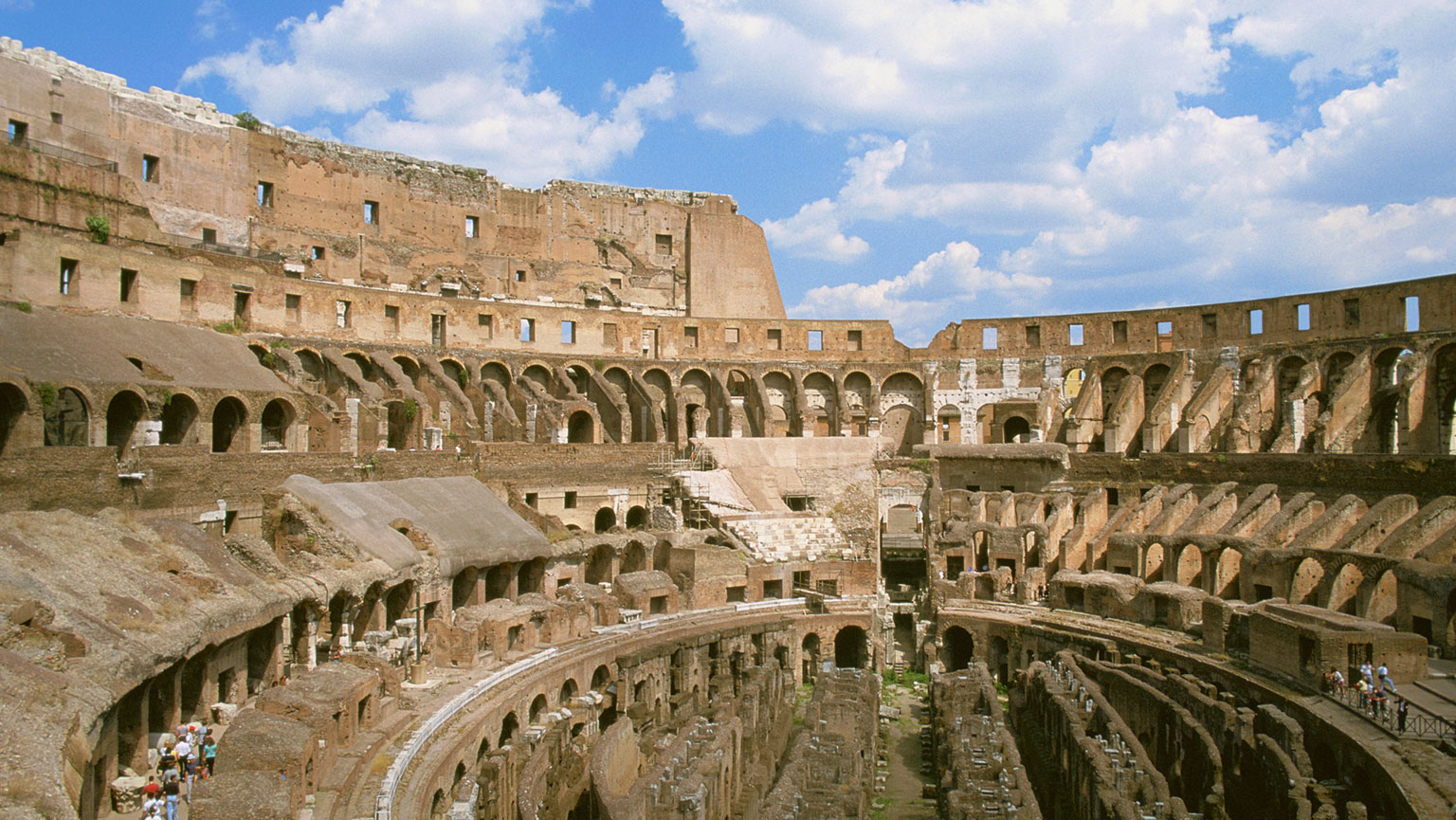 Construction in Transition—The Colosseum