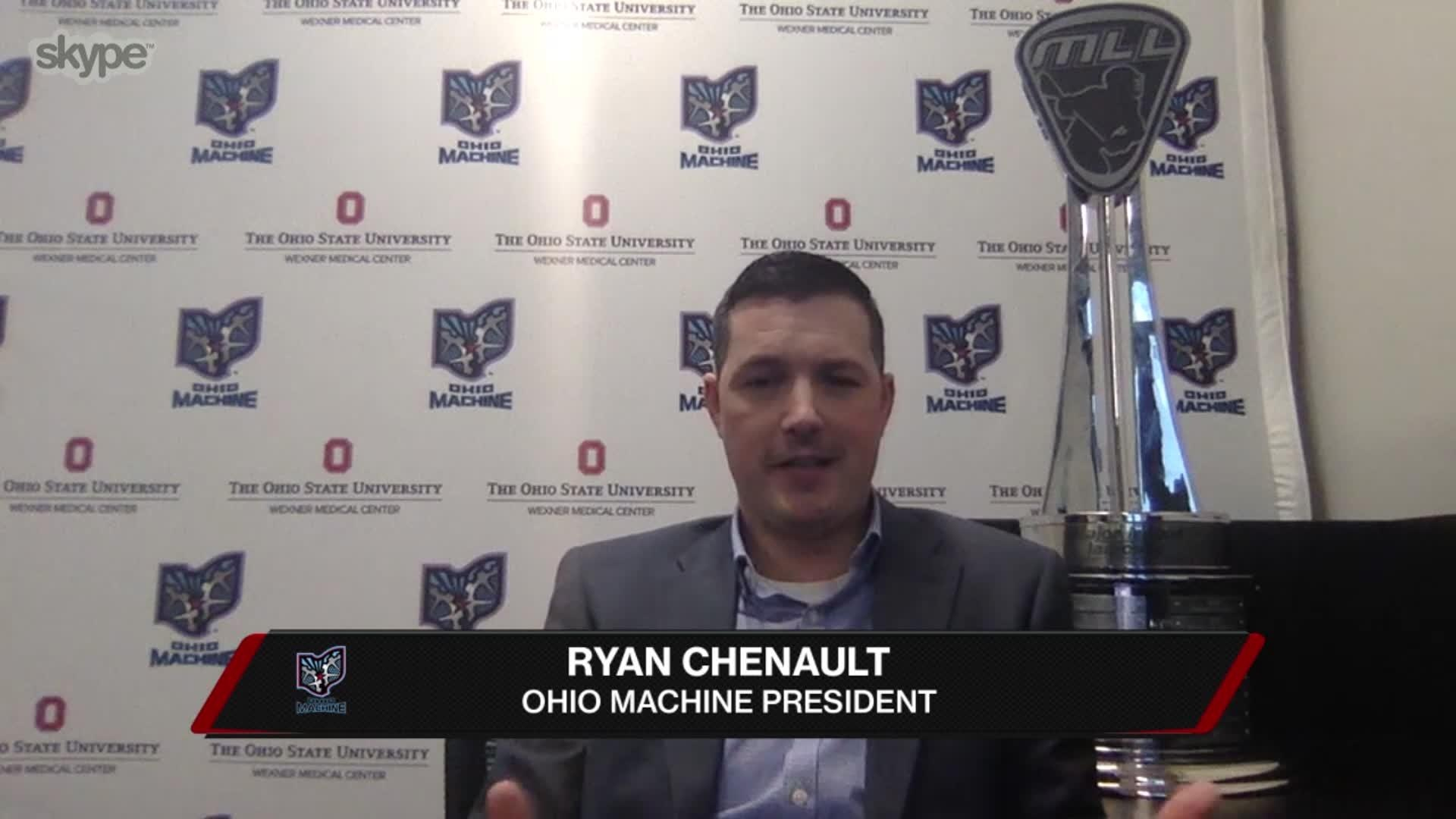 Machine's President Ryan Chenault Interview