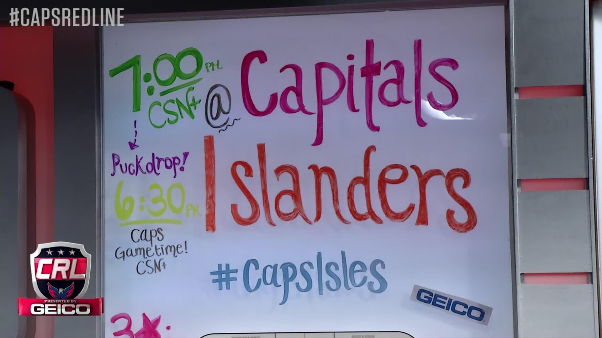 Caps Red Line: Caps @ Islanders Pt 3 - 1-31-17