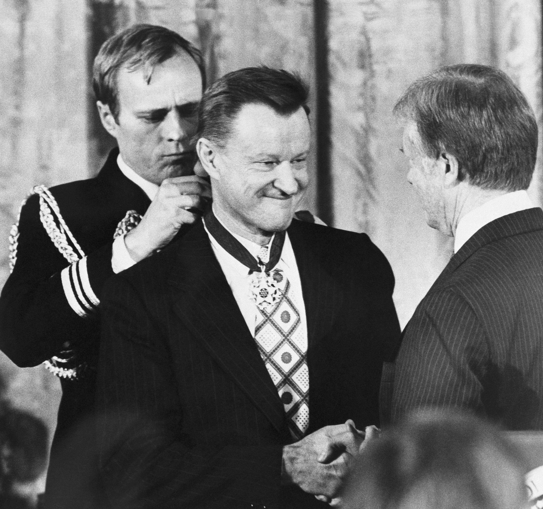 Image result for brzezinski presidential medal of freedom
