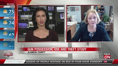 Study on gun possession, use and theft in Alameda County