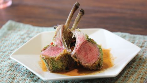 How to Make Rack of Lamb Persillade