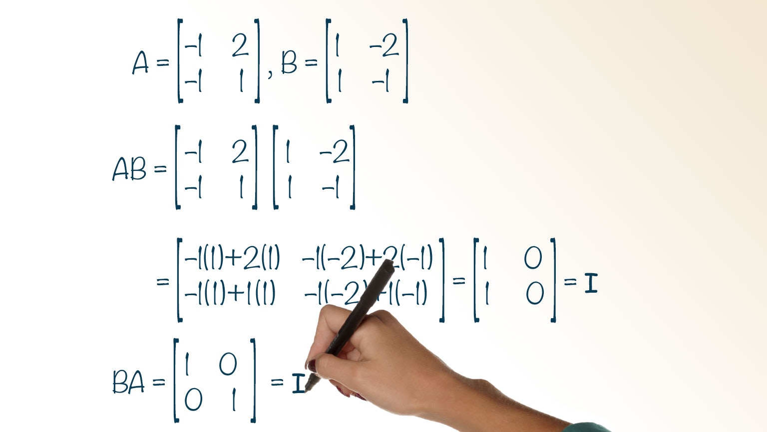 Inverses and Determinants of Matrices