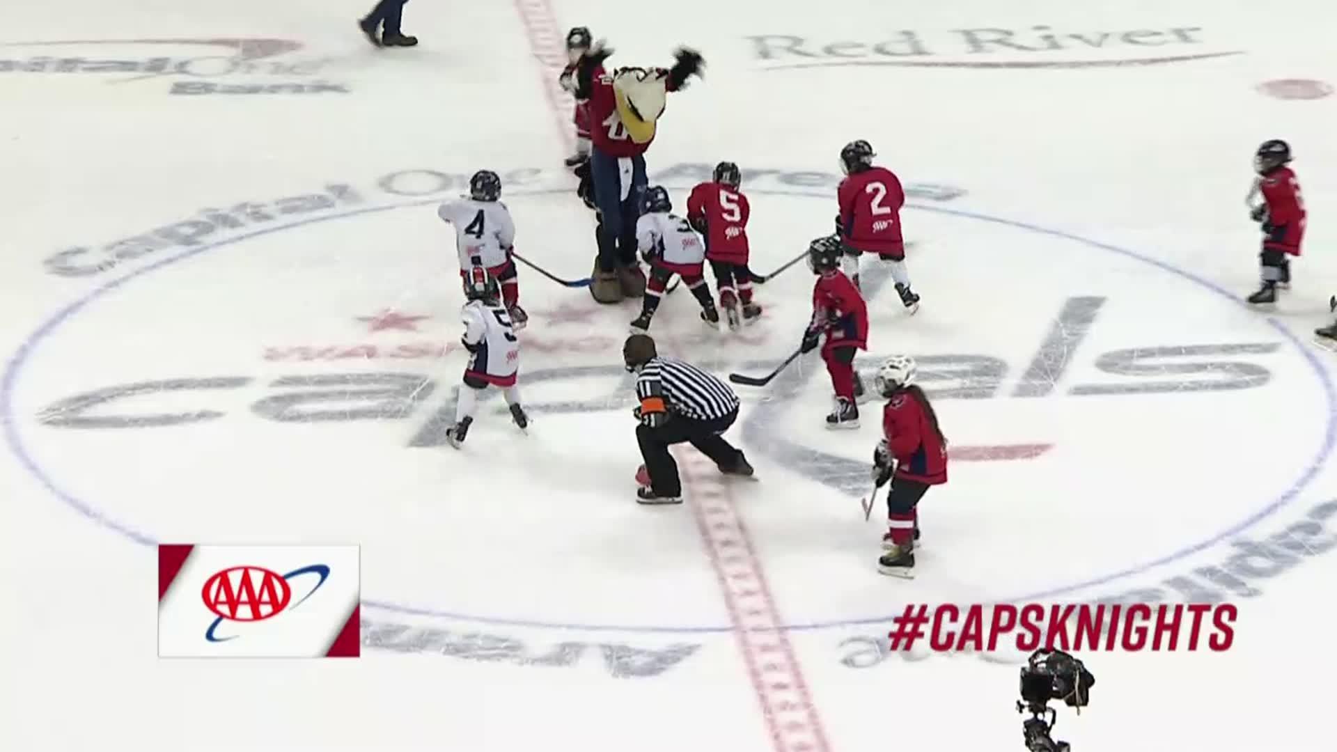 #CapsKnights Mites on Ice 2/4/18