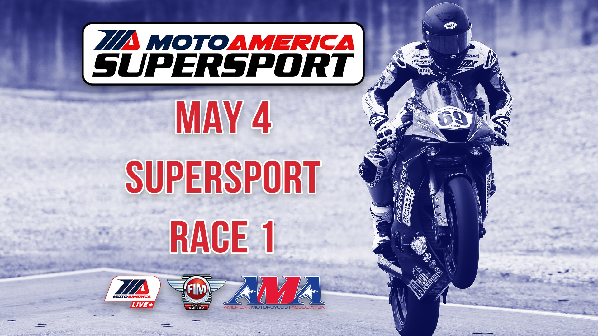 May 4 Supersport Race 1 | moto-america