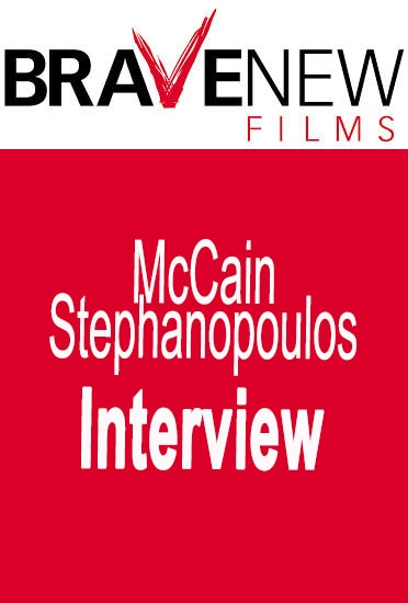 Image of McCain Stephanopoulos Interview
