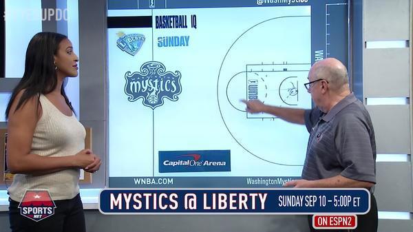 Mystics Post-Up: Mystics vs. Liberty 9/10/17