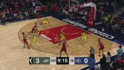 Highlights: Mystics vs. Storm 6/14/19