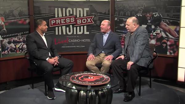 Image of Inside PressBox 2/18/18 Pt. 1: Loyola Men's Basketball Coach G.G. Smith