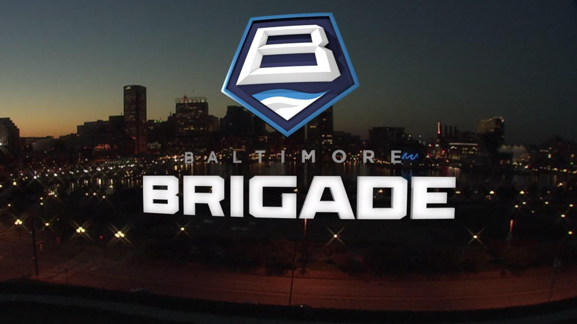 Red Circle With R Logo The Baltimore Brigade ...