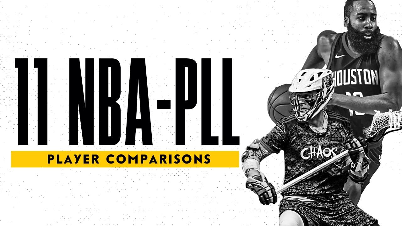 11 NBA-PLL Player Comparisons landscape image