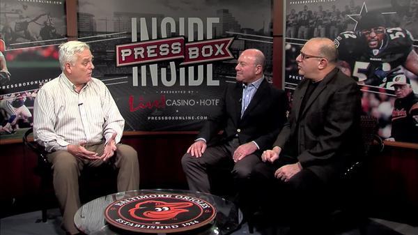 Image of Inside PressBox 1/07/18 Pt. 1: Ravens Talk With Peter Schmuck