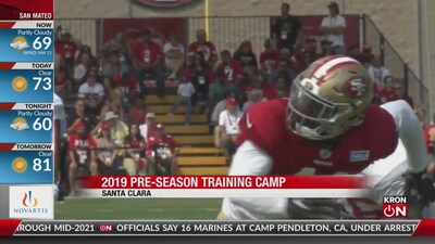 SF 49ers VP talks training camp