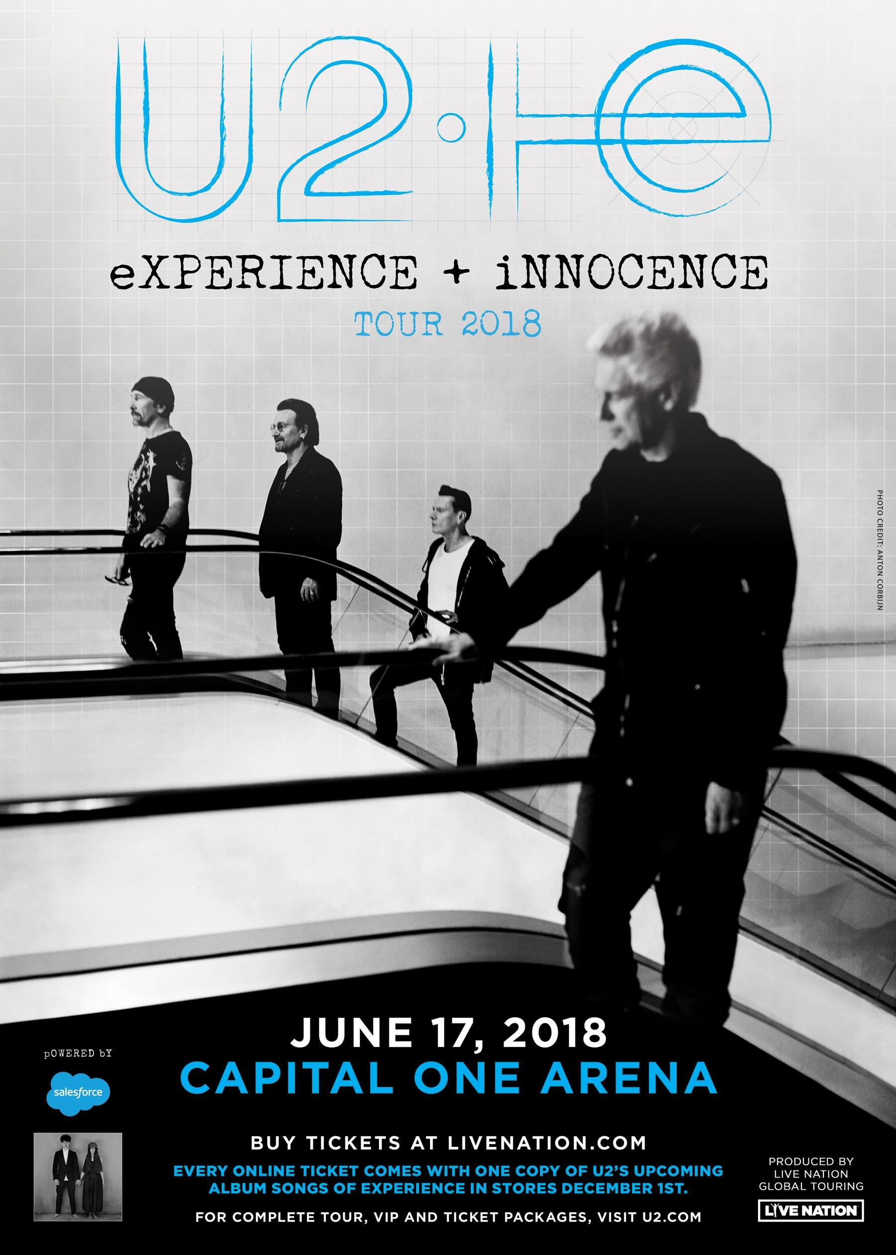 U2 The eXPERIENCE + iNNOCENCE Tour 2018 | Capital One Arena
