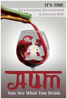 Image of AUM: You Are What You Drink