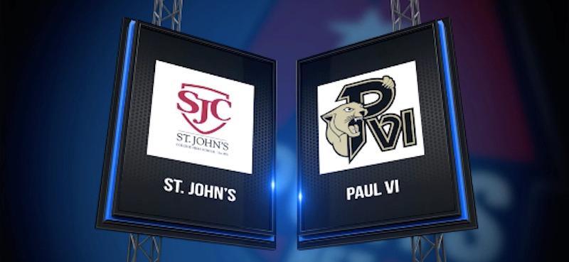 High School Basketball Showcase: Paul VI vs St. John's Girls 1/24/17