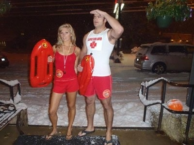 Diogo Godoi in Baywatch in the Snow