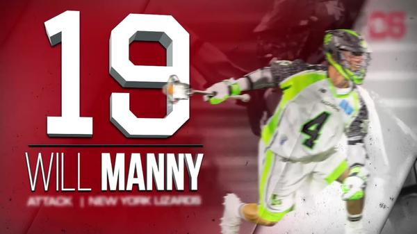 2017 #MLLTOP25 Number 19 Will Manny