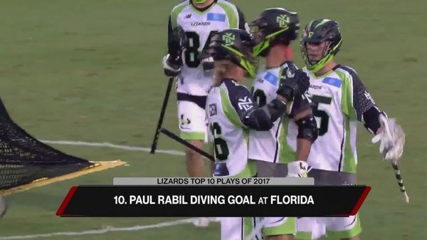 New York Lizards Top 10 Plays of 2017