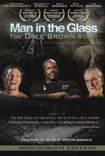 Image of Man in the Glass: The Dale Brown Story