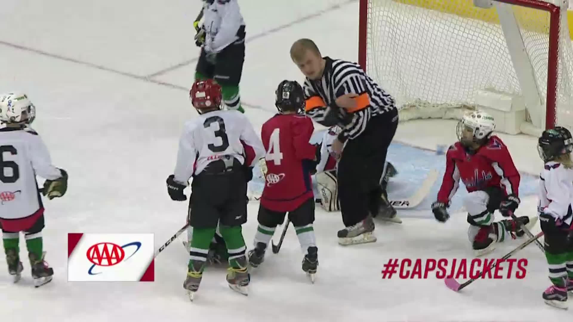 #CapsJackets Mites on Ice 2/9/18
