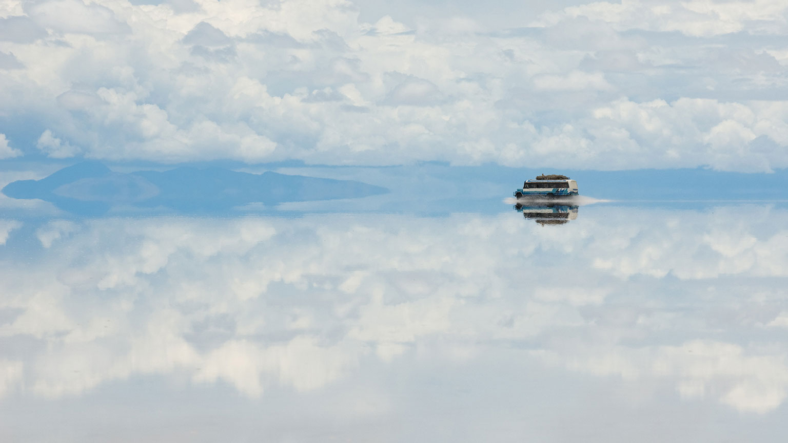 Salar de Uyuni—Flattest Place on Earth