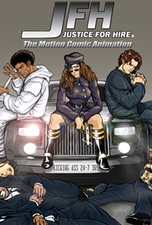 Image of JFH: Justice for Hire - The Motion Comic Animation - Trailer