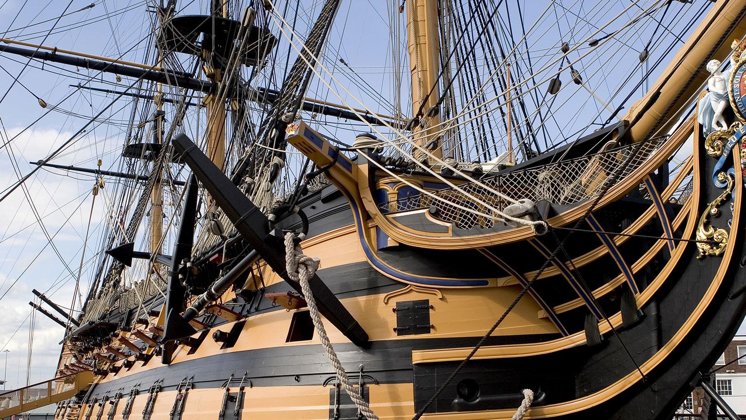 1805  Trafalgar—Nelson Thwarts Napoleon