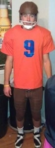 Jake Bernhardt as Bobby Boucher from The Waterboy