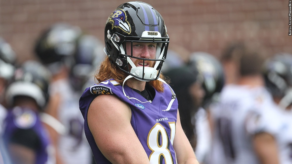 size 40 e9e9d c2c7a Though Overshadowed, Hayden Hurst Set To Fill Need At Tight ...