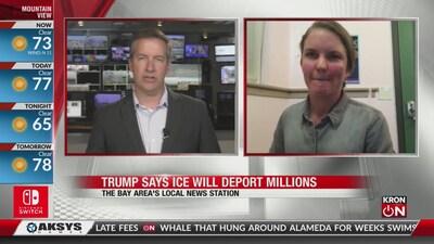 Trump says ICE will deport millions